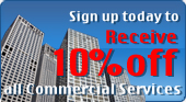 Sign up today to receive 10% off to all Commercial Services - NYLocksmith247.com